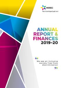 WSREC Annual Report Cover 19-20