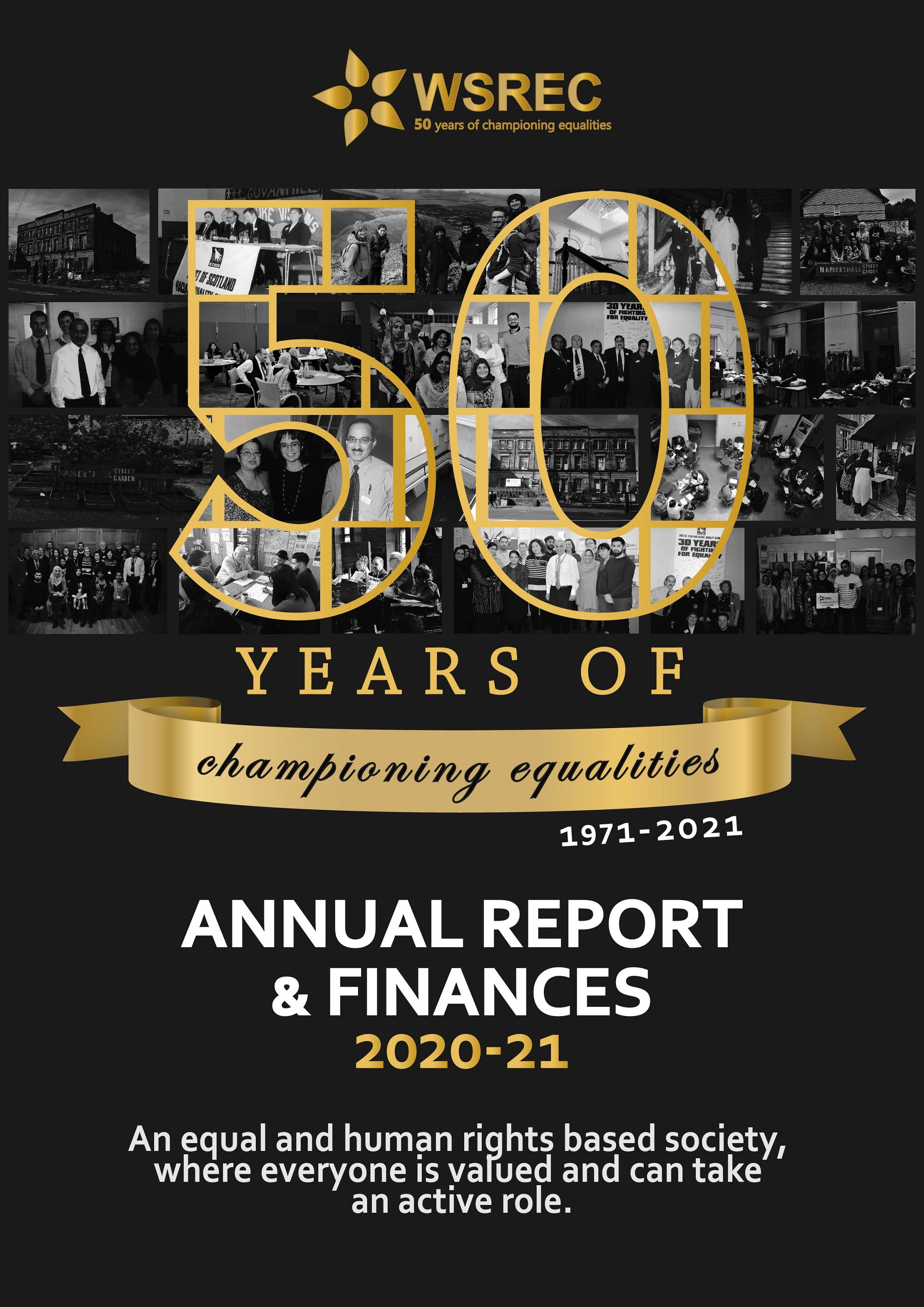 WSREC Annual Report Cover 20-21